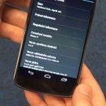 Android 4.2.2 in arrivo sull'LG Nexus 4 e960