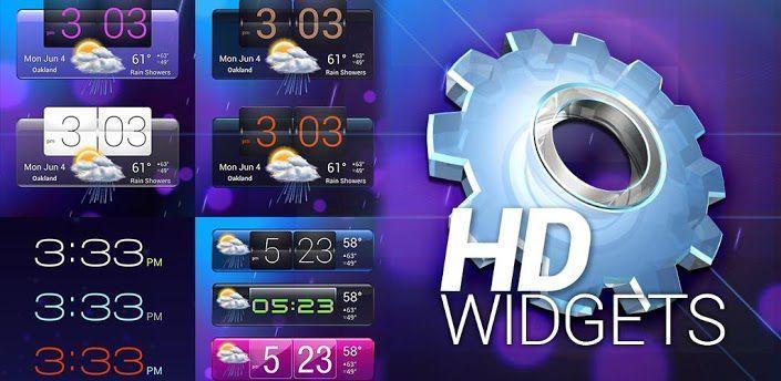 HD Widgets nuovo aggiornamento con supporto alla lockscreen di Android 4.2