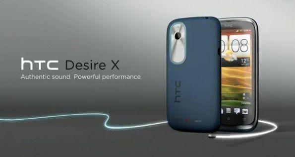 HTC Desire X specifiche tecniche e foto