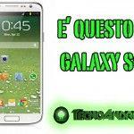 Samsung Galaxy S4, compare un'immagine che sembra reale, è davvero lui?