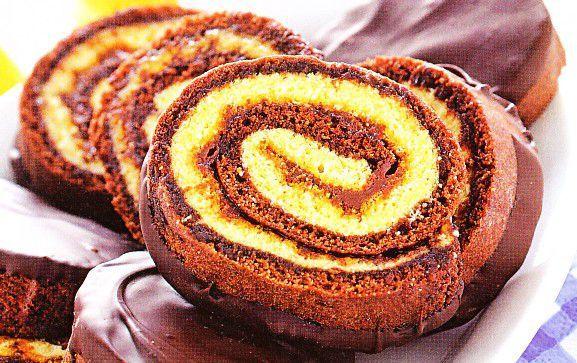 ricette-dolci-feste-compleanno-girella-al-cioccolato