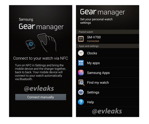 galaxy gear app manager