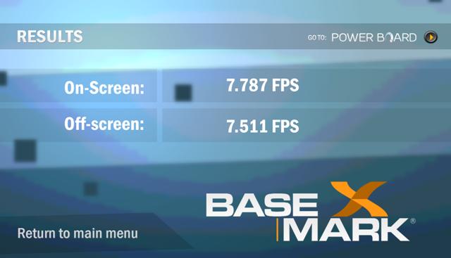Basemark X Nexus 7