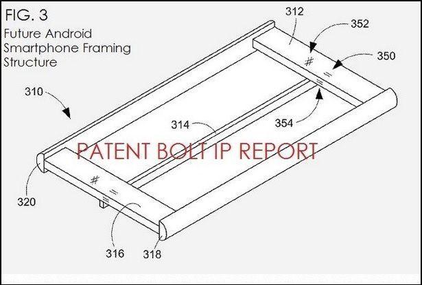 Da un brevetto di Google vediamo come sarà lo Smartphone Android del futuro