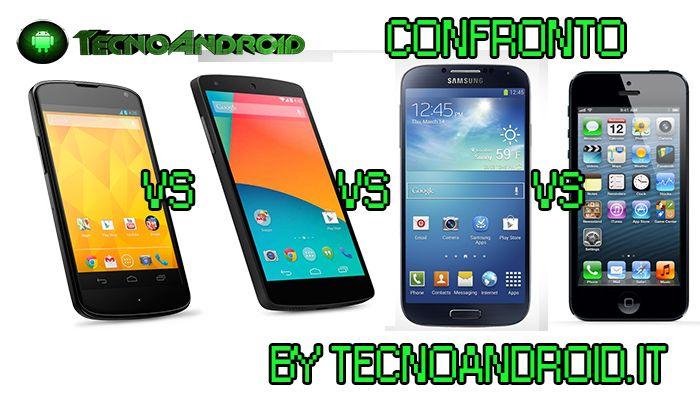 iphone 5s-nexus 5-nexus 4-galaxy s4- tecnoandroid