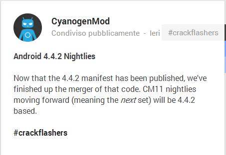 CM 11 nightlies