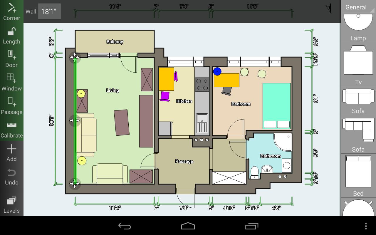 Floor plan creator progetta la tua casa direttamente su for Progetta la tua planimetria online