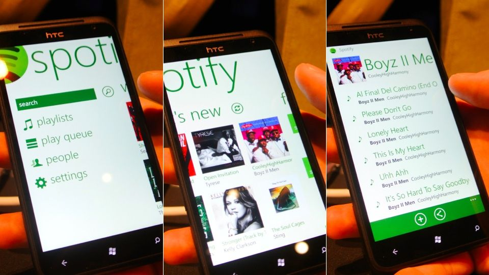 how to put music on spotify from phone