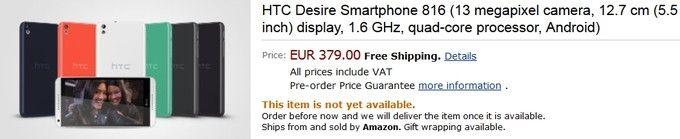 HTC-Desire-816-price-Europe