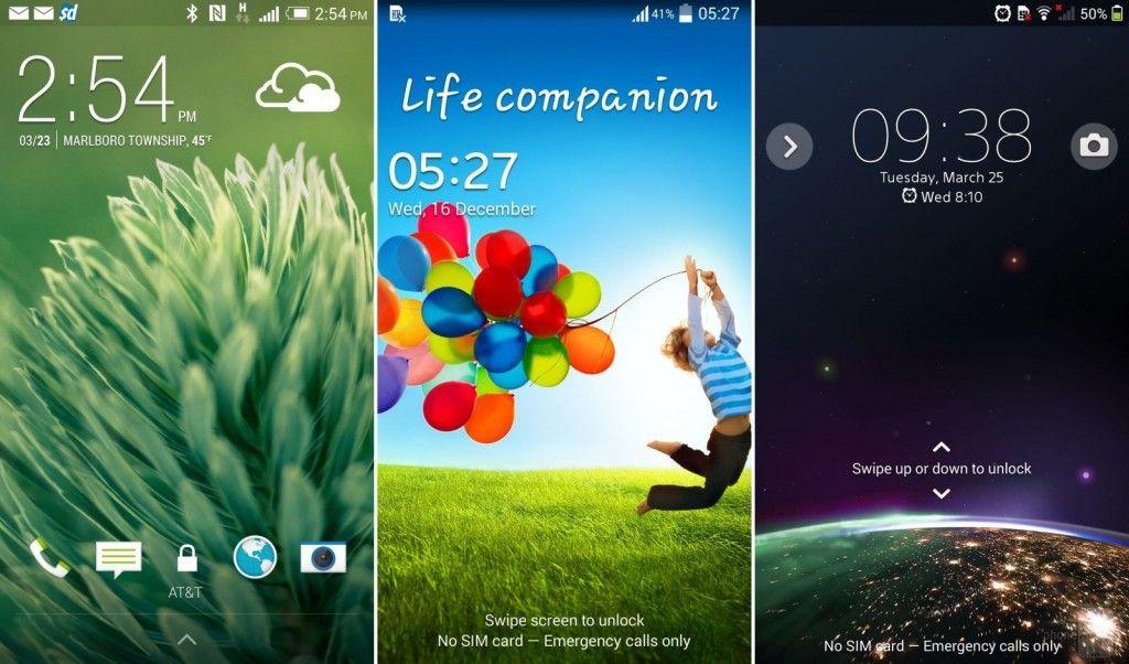 HTC-Sense-6-left-vs-Samsung-TouchWiz-middle-vs-Sony-Xperia-right---UI-Comparison