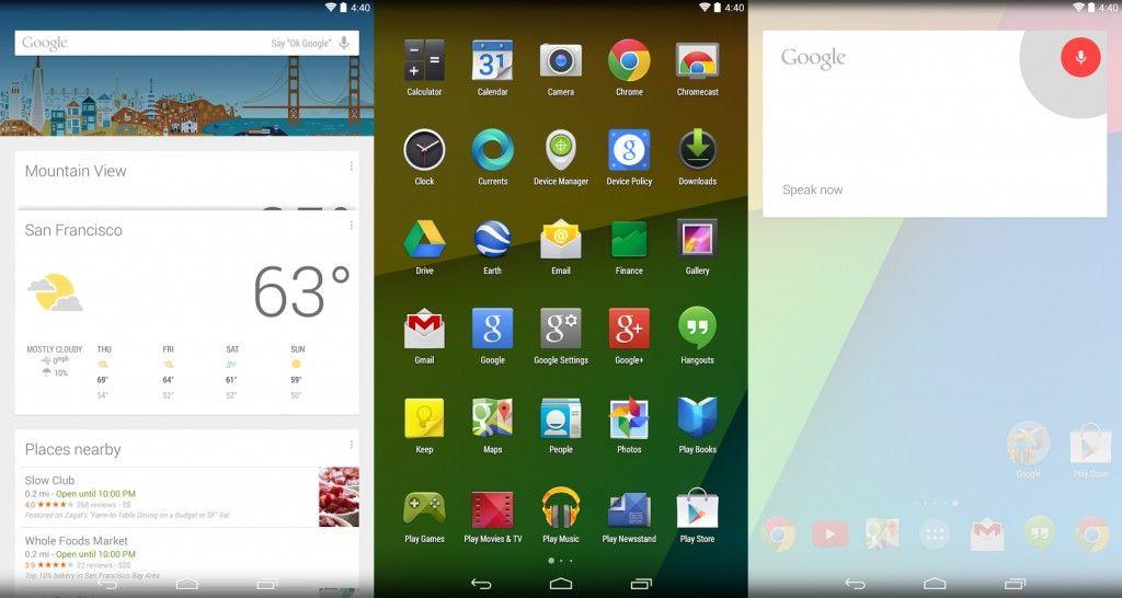 Avvio Applicazioni di Google Now