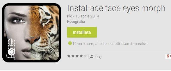 instaface