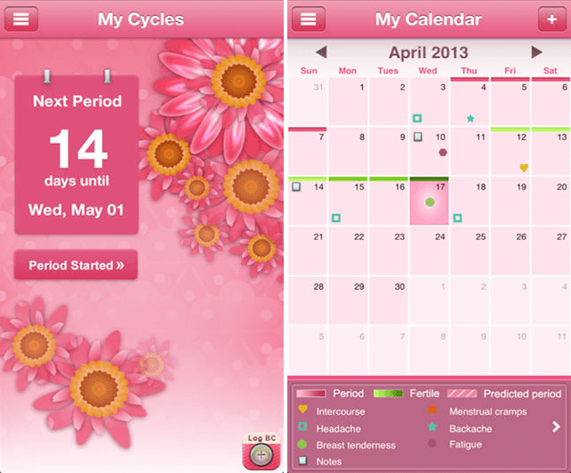 period-tracker-app-my-cycles