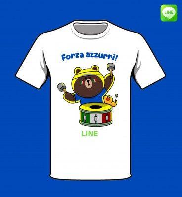 T-shirt Forza Azzurri