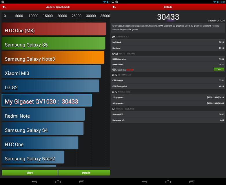 Screen gigaset qv1030 (3)