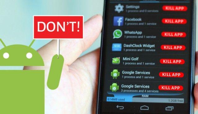 task killer Android