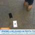 iPhone 6 caduto a terra
