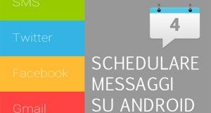 schedulare messaggi android