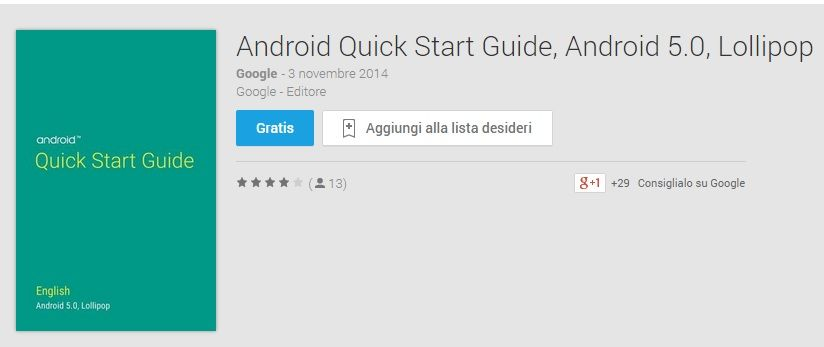 guida android 5