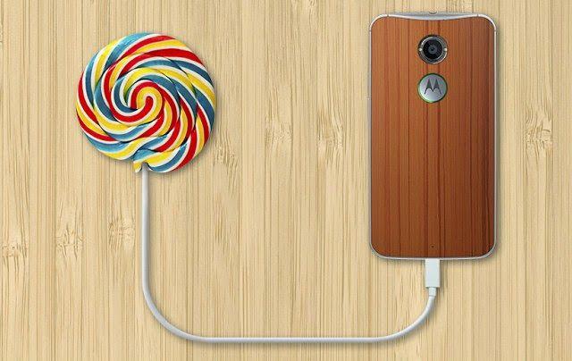 Android 5.0 Lollipop disponibile per i dispositivi Motorola