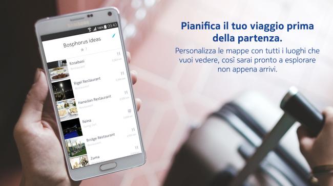 HERE Beta - App Android su Google Play - Google Chrome