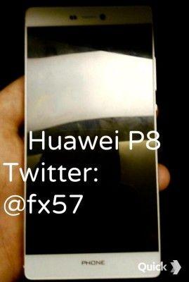 Huawei P8 sul web appaiono le prime presunte immagini reali