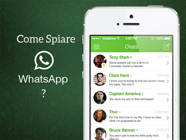 5 APP PER SPIARE WHATSAPP DA ANDROID E IPHONE