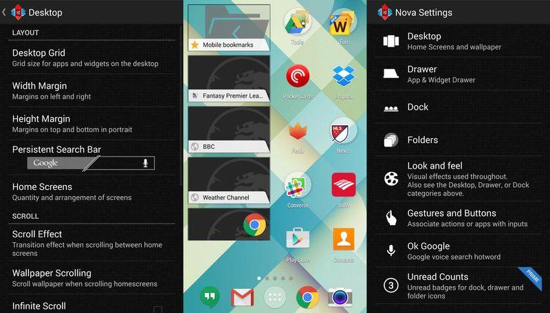 I migliori launcher Android per il vostro dispositivo