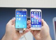 Samsung Galaxy S6 vs iPhone 6: il confronto tra rivali