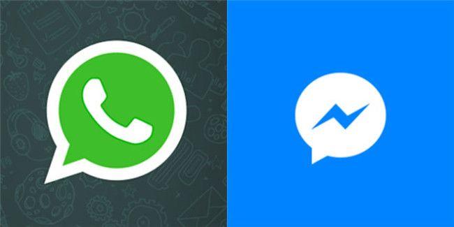 Whatsapp e Facebook Messenger