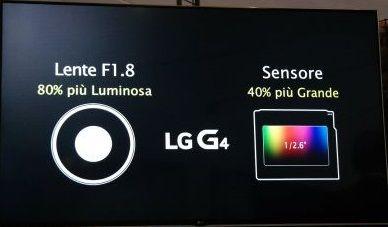 fotocamera lg g4
