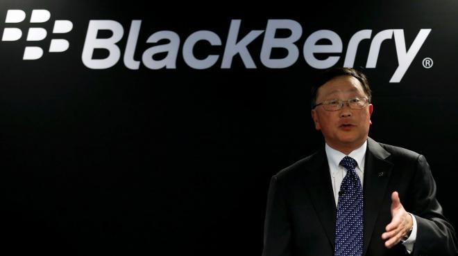 Blackberry  smartphone ospedali
