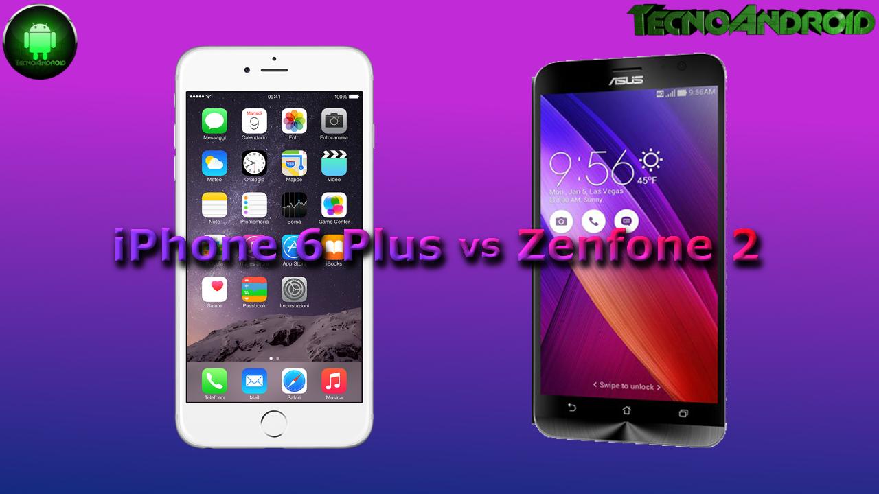 iphone 6 plus vs zenfone 2