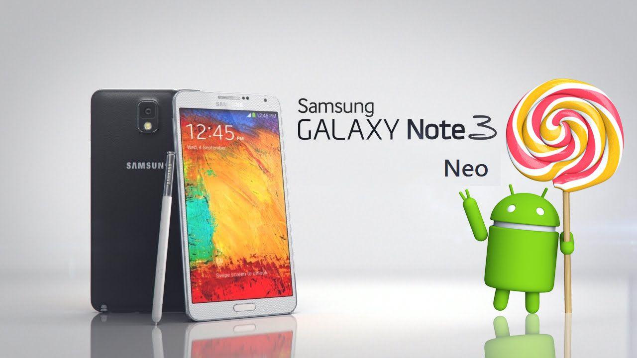 Galaxy Note 3 Neo Android Lollipop confermato ancora