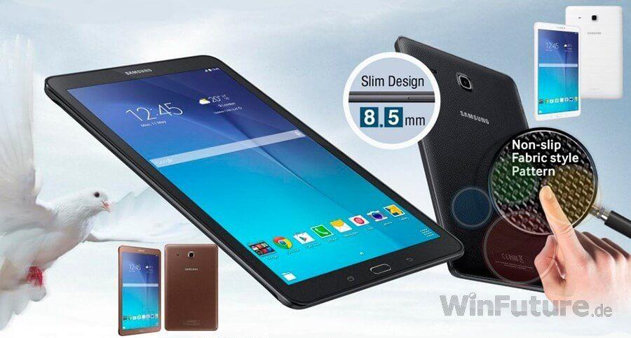 Samsung Galaxy Tab E Presentato Ufficialmente