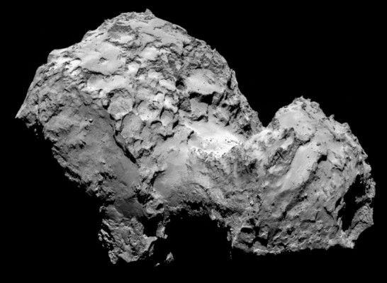 Missione Spaziale Rosetta risveglio Philae