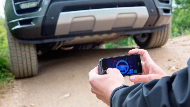 land rover auto telecomandata