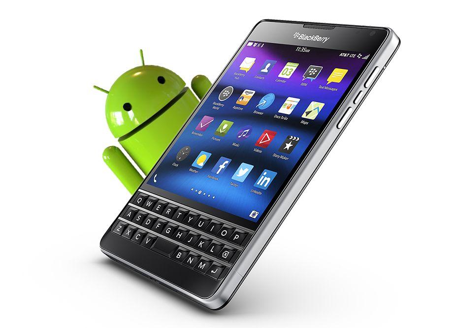 nuovo blackberry con android