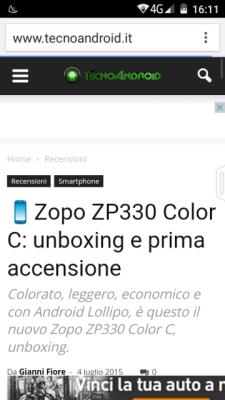 Screen zopo zp330 (2)