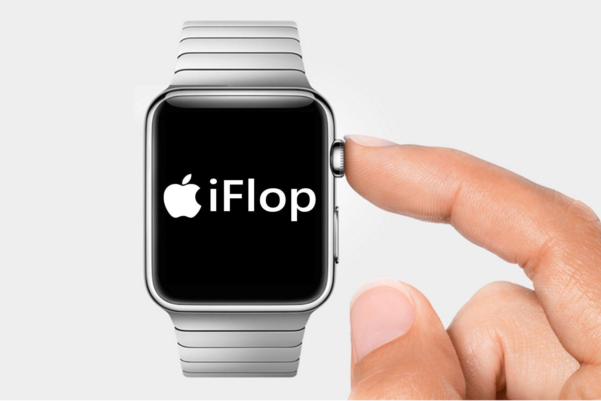 Apple Watch verso clamoroso Flop