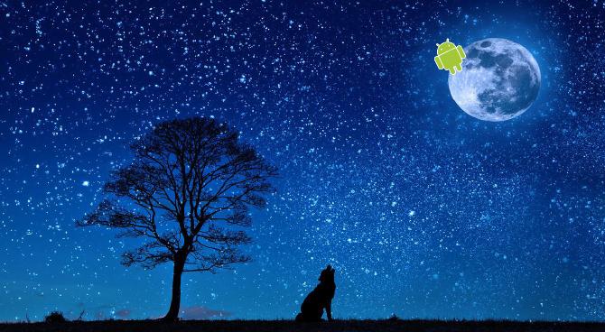 luna blu Android