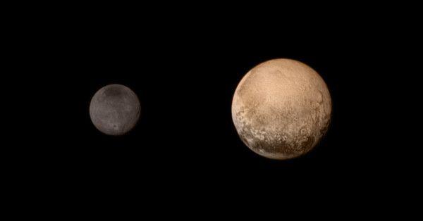 New Horizons Plutone e Caronte
