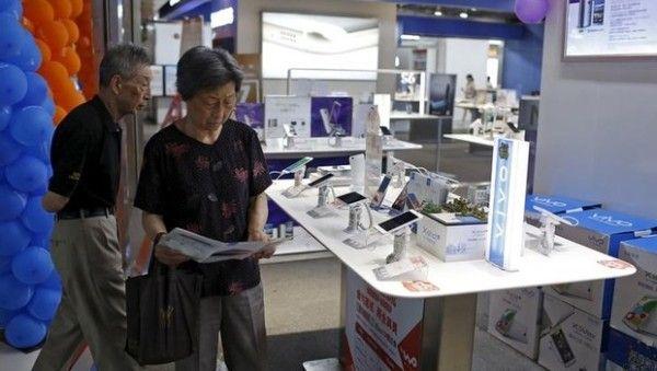 Mercato smartphone in Cina