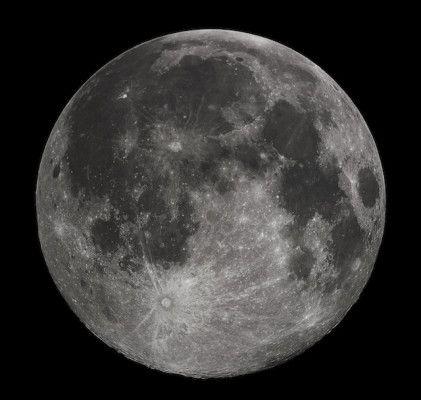 Lato lunare visibile