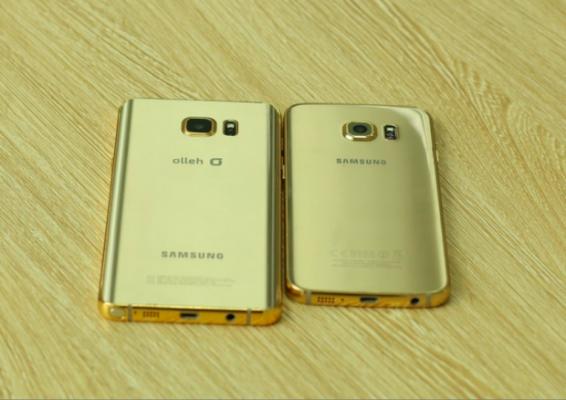 Galaxy Note 5 e Galaxy S6 Edge+ adesso anche in oro 24K