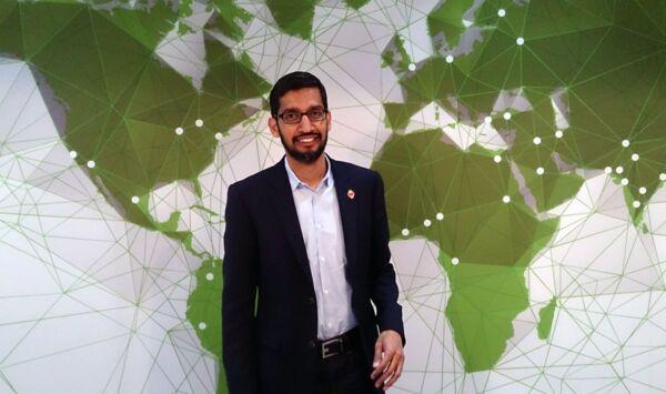 Sundar_Pichai - Google diventa Alphabet