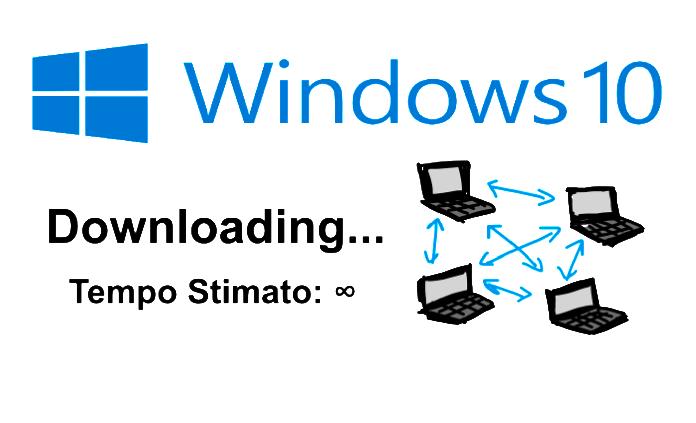 Windows 10 WUDO furto connessione