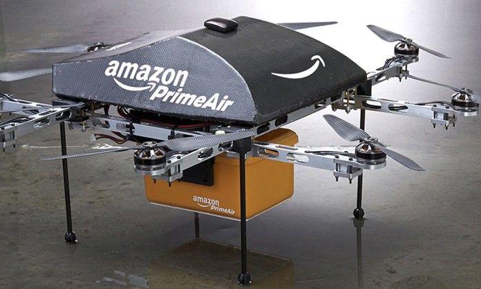 Amazon chiede spazio aereo per le consegne coi droni
