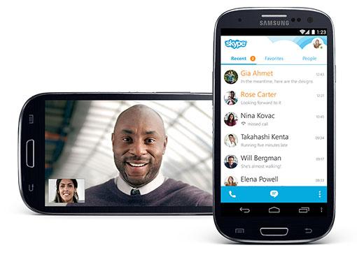 Skype per Android si aggiorna alle versione 5.10: ecco tutte le novità