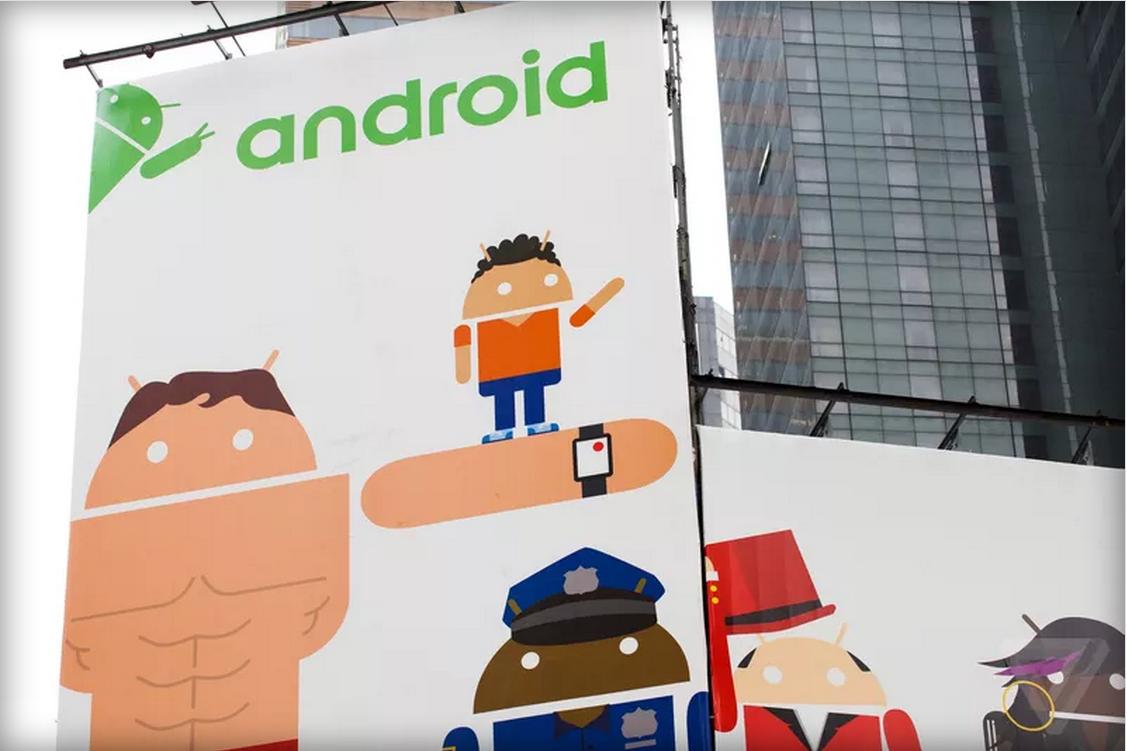 infografica su frammentazione android e maggiori produttori
